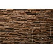 Декоративный Камень Petra Спарта Настенная 37x12 коричневый