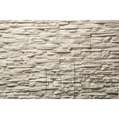 Декоративный Камень Petra Спарта Настенная 37x12 белый
