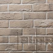 Декоративный Камень Petra Византийский кирпич Настенная, угол 18, 8x65 бежевый
