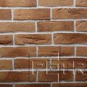 Декоративный Камень Petra Византийский кирпич Настенная, угол 18, 8x65 коричневый