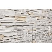 Декоративный Камень Petra Олимпия Настенная, угол 18, 6x86 белый